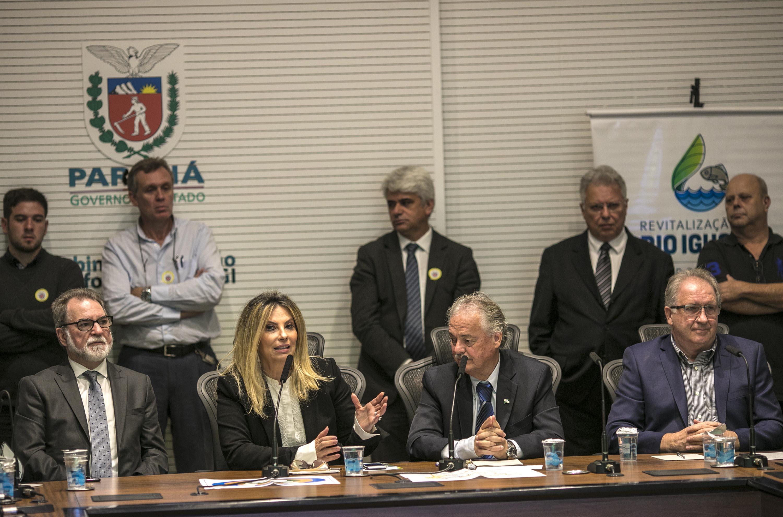 Cida Borghetti - Cida Borghetti lança programa de revitalização do Rio Iguaçu