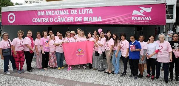 Cida Borghetti - Cida Borghetti mobiliza o Paraná na luta contra o câncer de mama