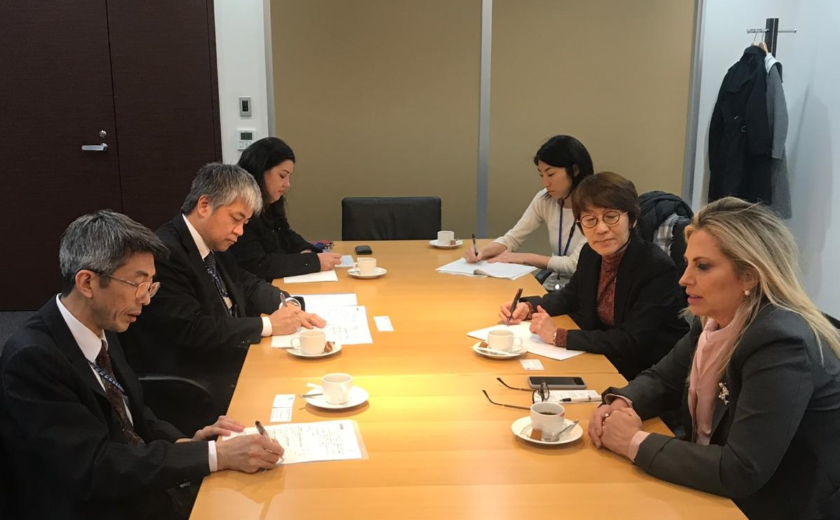Cida Borghetti - Cida reforça importância da troca  de tecnologia entre Paraná e Japão