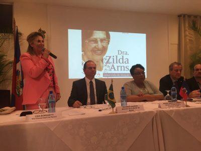 Cida Borghetti - Cida Borghetti homenageia Zilda Arns